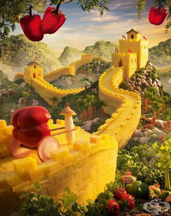 Великата Китайска стена.