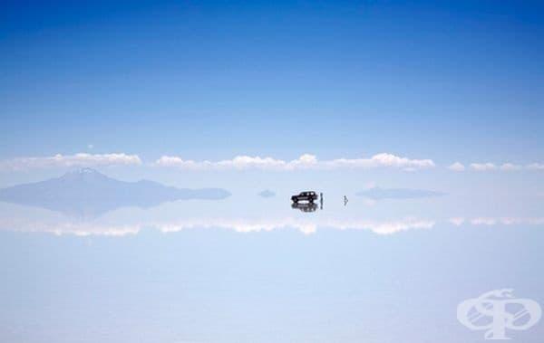Границата между небето и земята.