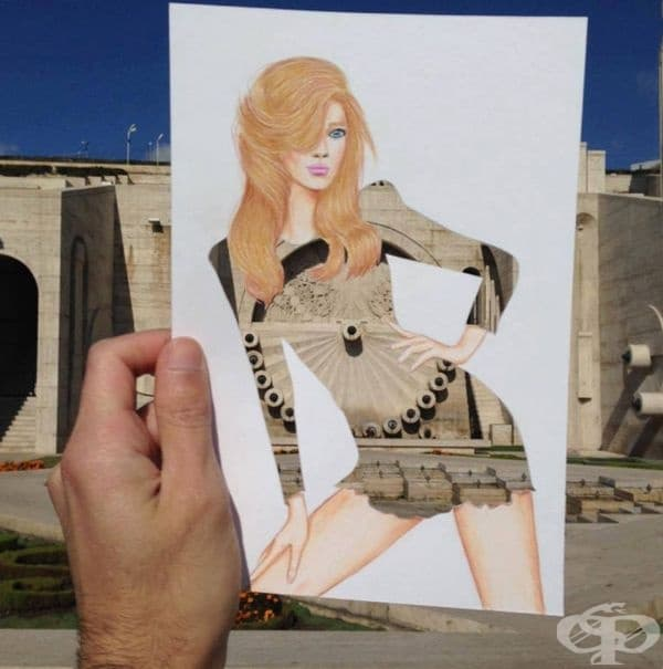 Американски моден илюстратор създава зашеметяващи рокли от битови предмети – част 2