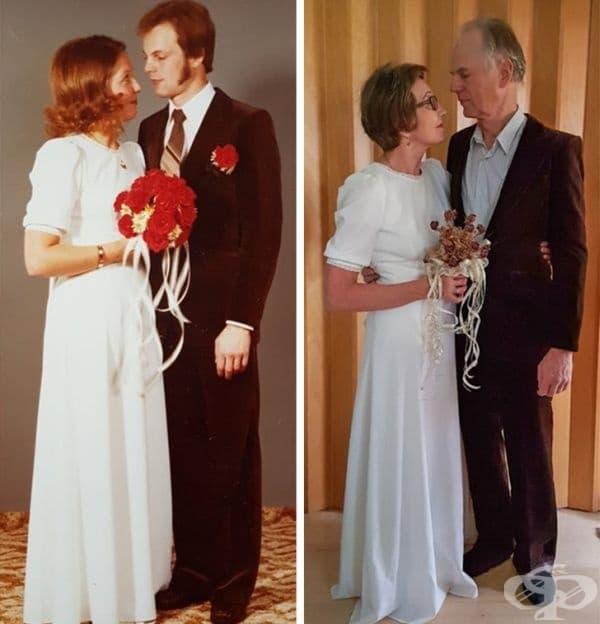 Те са заедно в продължение на 40 години.