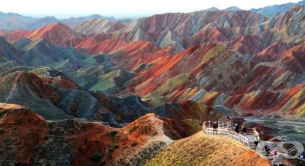 Планини в Китай.