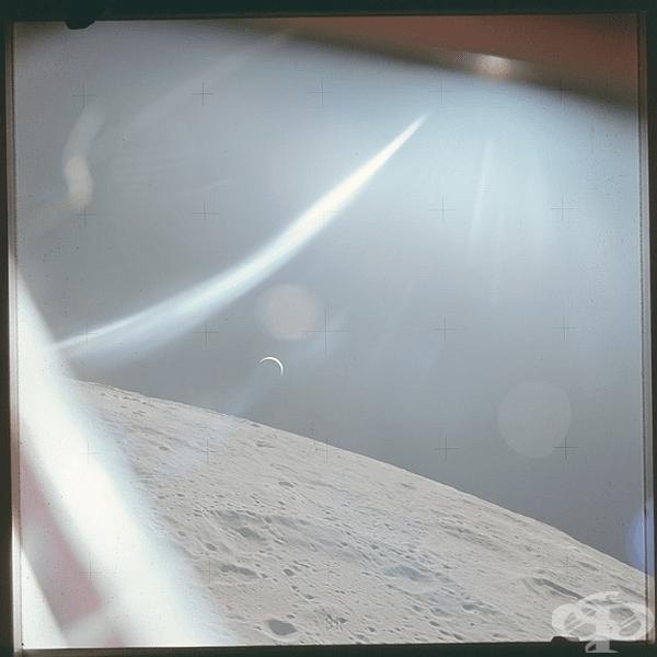 Преди 47 години екипът на Аполон 15 е направил тази снимка на Земята от Луната.
