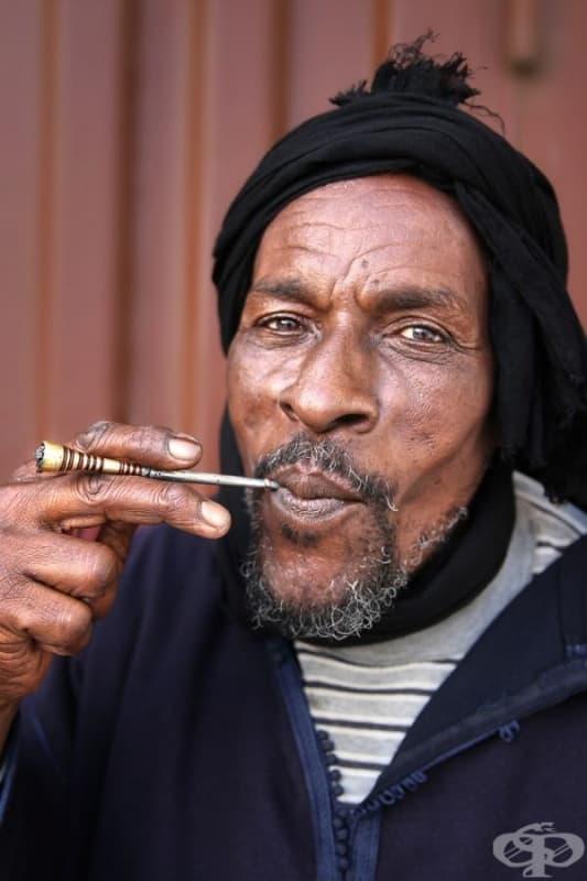 Мъж от Сахара.