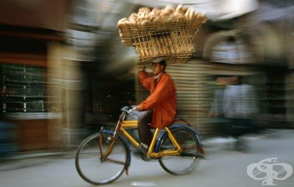 Бърза доставка на хляб.