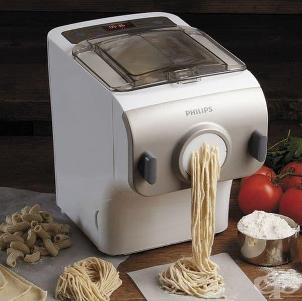 Уред за създаване на паста с разлини вид и дължина.