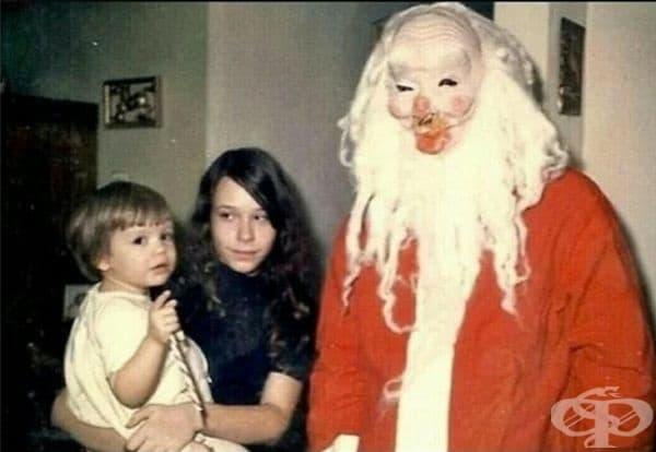 Нещо между Дядо Коледа и Хелоуин.