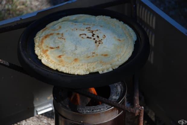 """Вкусни катми на печка """"циганска любов"""" -  с мирис на дим и мерудия"""