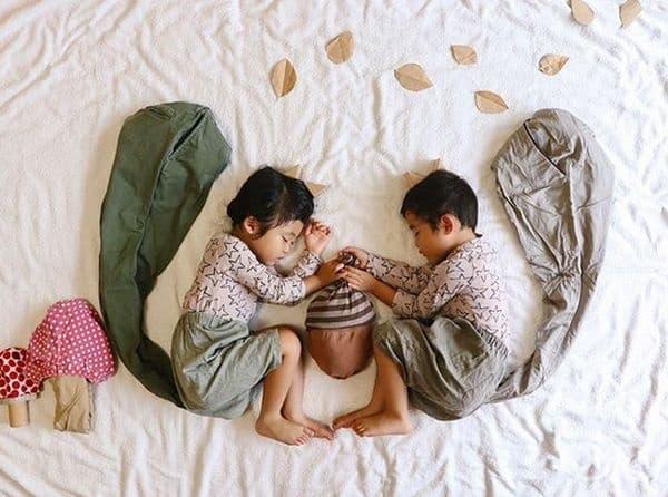 Намирането на жълъд е безценно за децата ... и катериците.