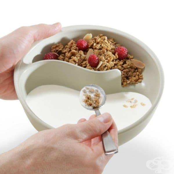 Идеалната купа за тези, които обичат да разделят своята зърнена закуска.
