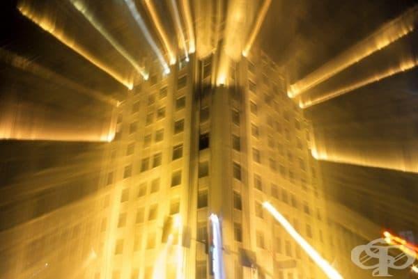 Големи градски светлини.