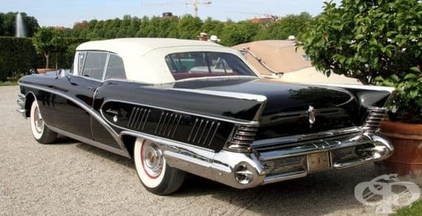 1958 Buick Limited кабриолет.
