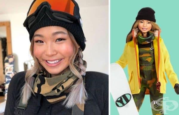Хлое Ким, шампион по сноуборд.
