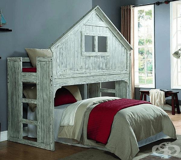На децата ще им е много спокойно и уютно в подобни легла.