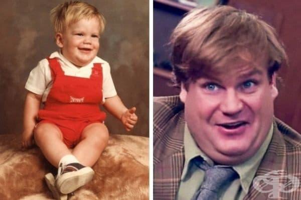 """""""Братовчед ми изглеждаше като дете на Крис Фарли."""""""