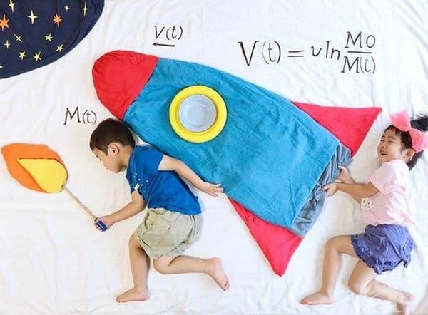Никога не сте твърде млади, за да изучавате физика.