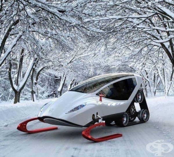 Моторна шейна за забавления (Snow Crawler) е толкова известна сред снегомобилите, колкото Ламборджини (Lamborghini) сред автомобилите.