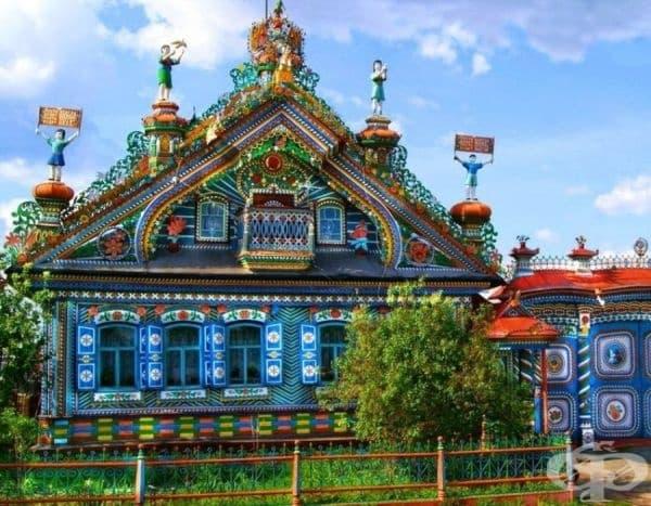 Къщата на ковача Кирилов, Кунара, Русия.