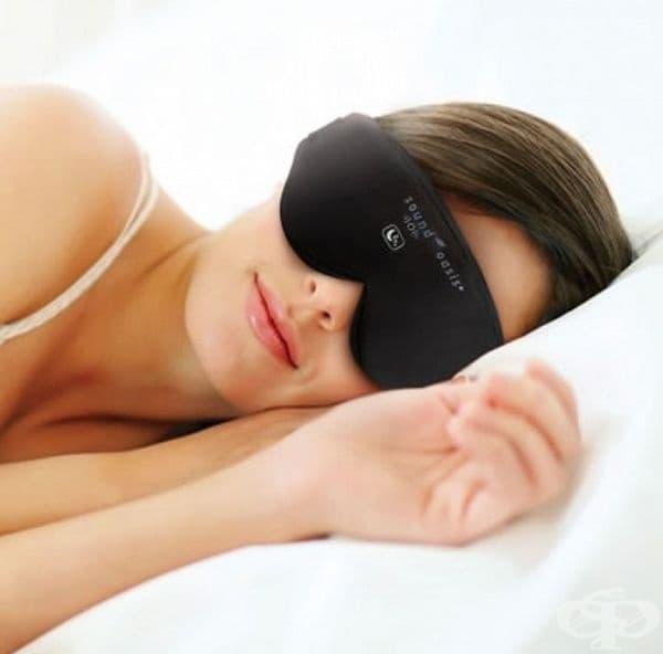 Маска за регулиране на съня. С помощта на червени и сини светлини се блокират всички атмосферни светлини, създава се илюзия за залез или изгрев. Чудесно за чувствителни хора с нарушения в съня.