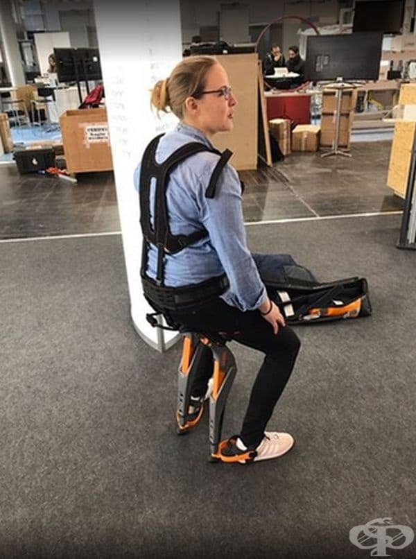 Noonee създаде специално оборудване, което може да се приспособи към краката ви и ви позволява да седнете, да стоите или да ходите, когато пожелаете.