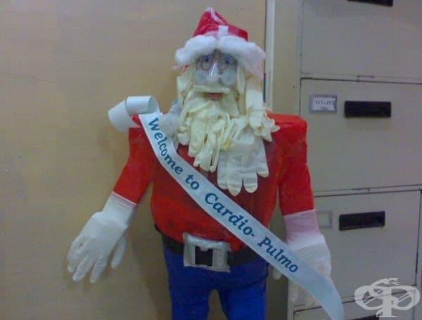 Вероятно така изглежда медицинския Дядо Коледа.