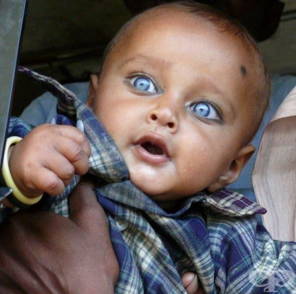 Не можем да подминем и това симпатично момченце. То притежава огромни сини очи, от които човек не може да отдели поглед.