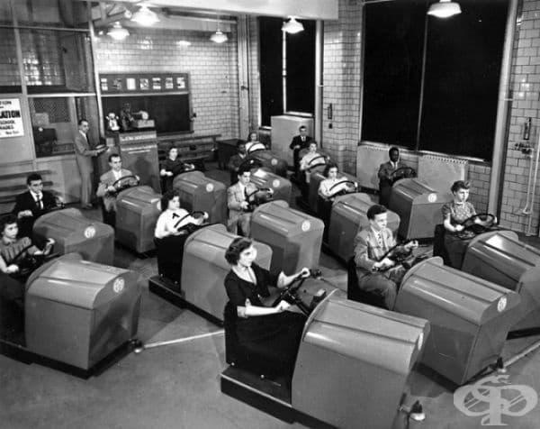 Шофьорски курсове, 1953.