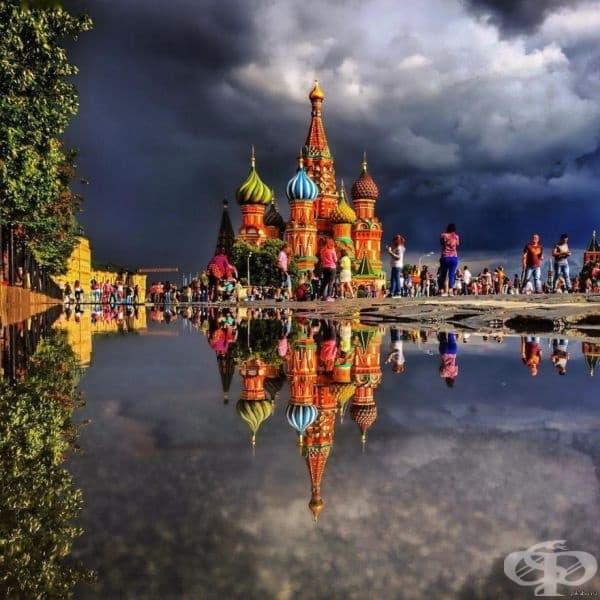 """Катедралата """"Свети Василий Блажени"""", Русия."""