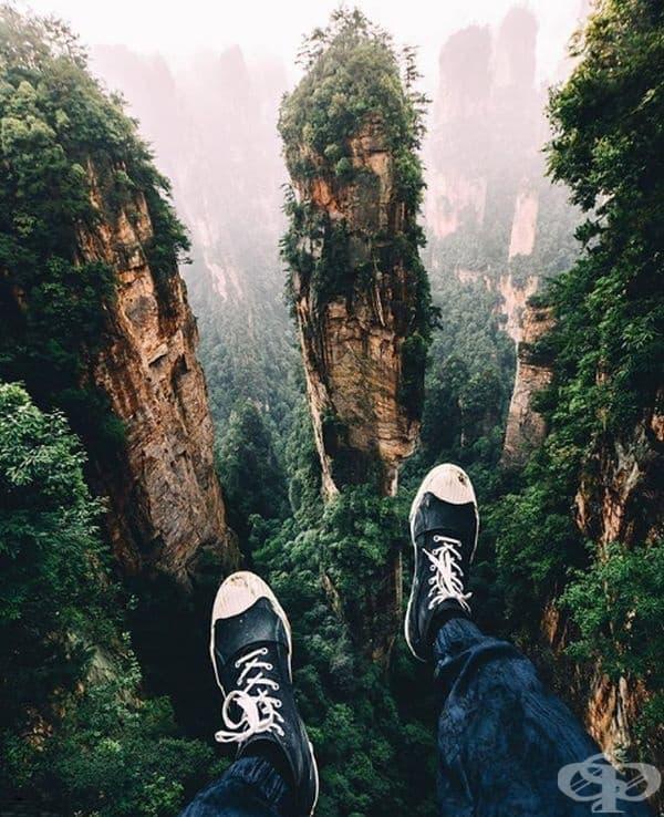 Национален парк Жанджайе, Китай
