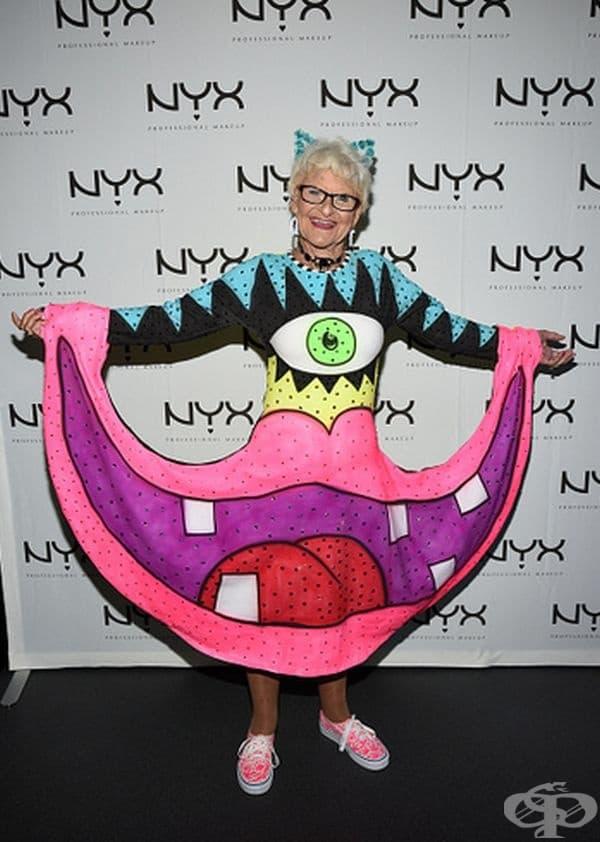 89-годишната Бади Уинкъл през 2015 г.