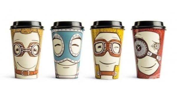 Чаши за кафе.