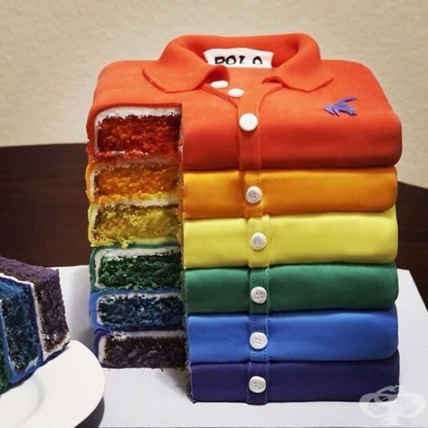 """Торта """"Блузи""""."""