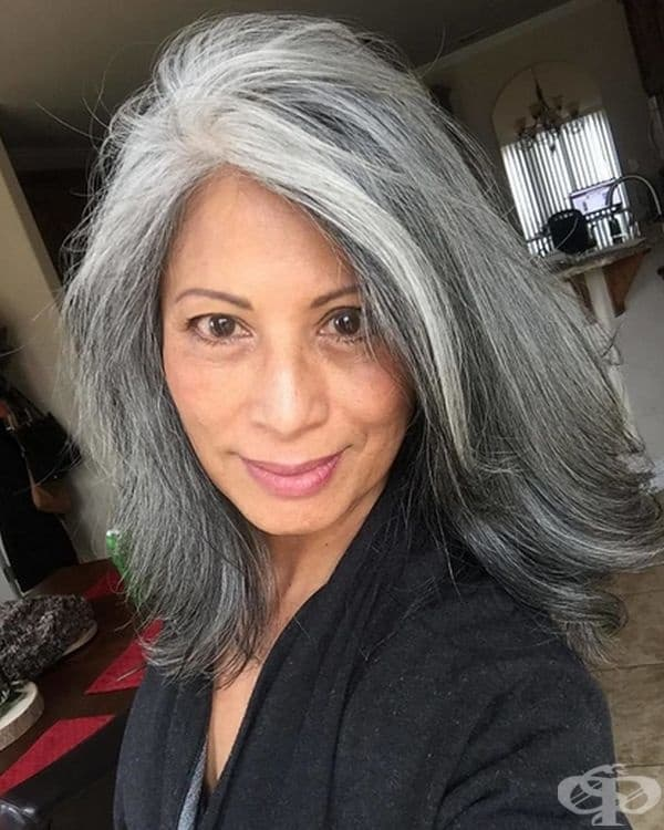 """""""С привилегията да остаряваме трябва да носим и венеца на среброто си като венец на честта. Вярвам, че доверието и самоприемането наистина правят жената красива ... на всяка възраст!"""""""