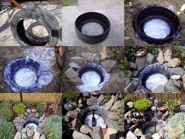 Използвайте като основа за прекрасен фонтан.