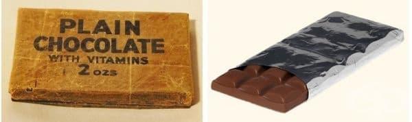 Блокчета шоколад
