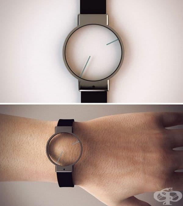 Часовник, който и без цифри е разбираем.