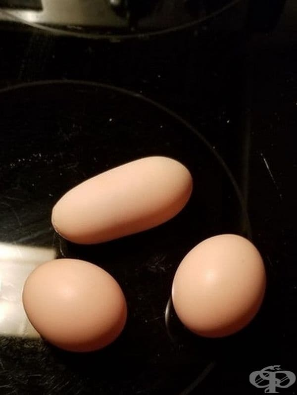 Яйце с нестандартна форма.