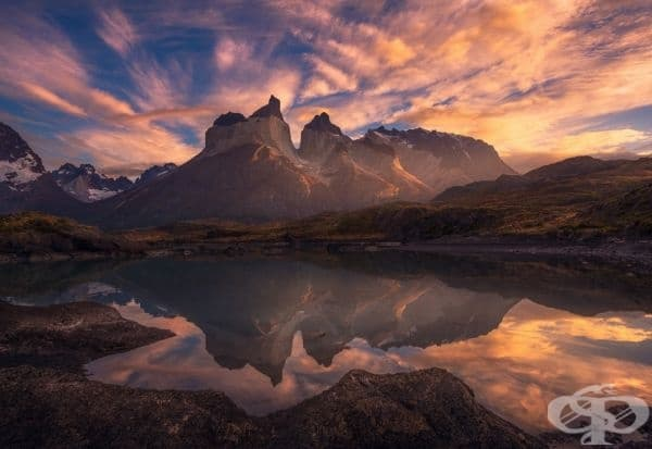 Пробуждане на Национален парк Торес дел Пейн