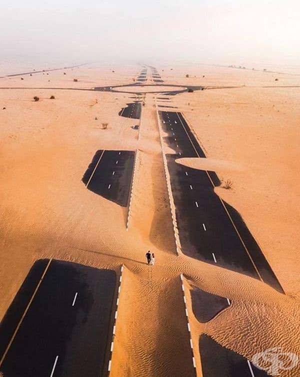 Магистрала в Дубай.