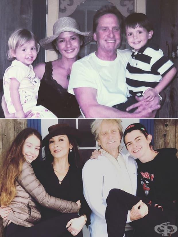 Едно от най-красивите семейства в Холивуд.