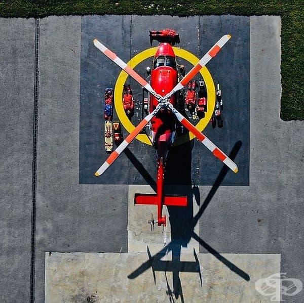 Швейцарски въздушен спасителен екип