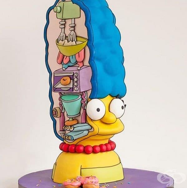 Ето защо косата на Мардж е толкова голяма.