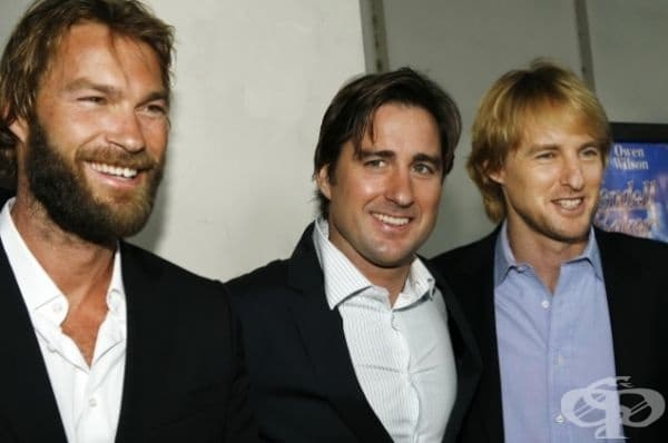 Братя актьори - Андрю, Люк и Оуен Уилсън.