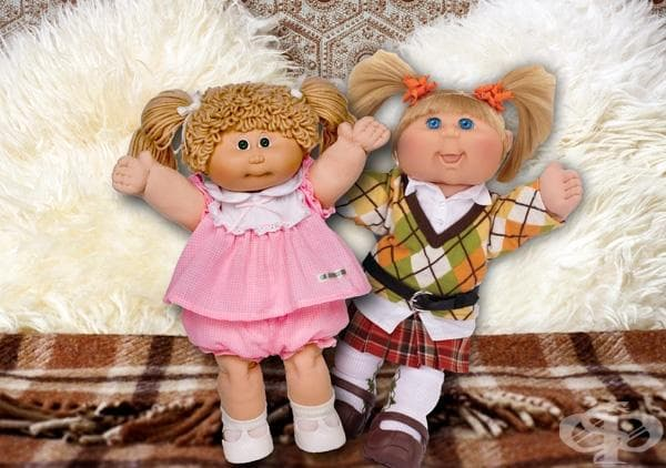 Cabbage Patch Kids 1983 г и 2010 г
