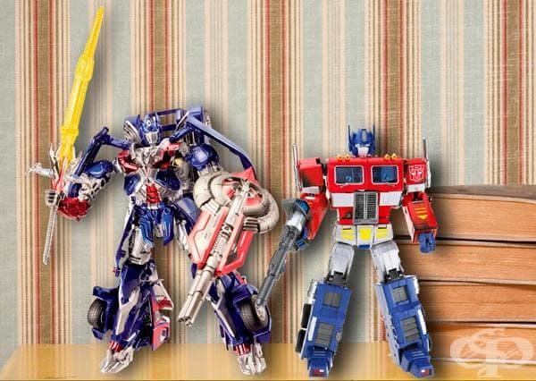 Optimus Prime 2014 г и 1983 г