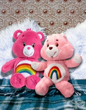 Care Bears 2014 г и 1983 г