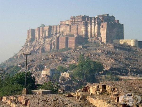 Крепост Mehrangarh, Джодхпур