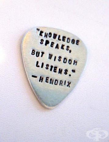 """""""Знанието говори, но мъдростта слуша."""""""