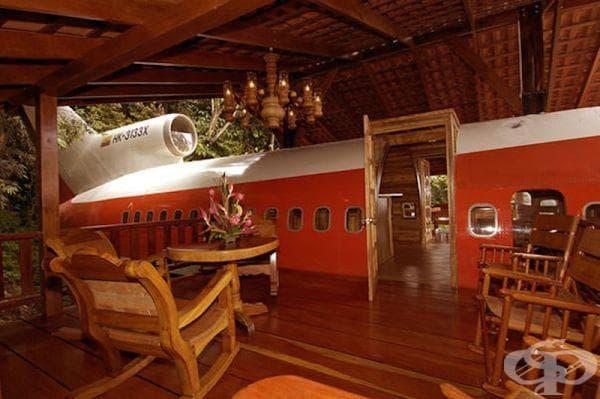 "Хотел ""Боинг 727"" - интериор"