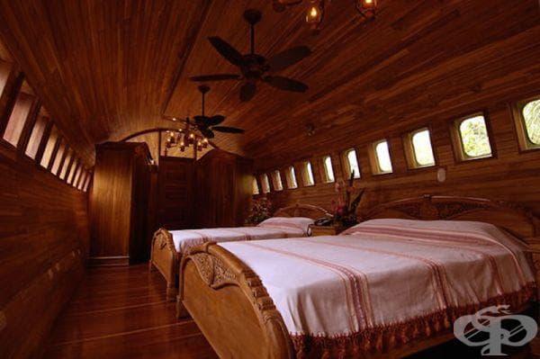 """Спалнята в къщата """"Хобит"""""""
