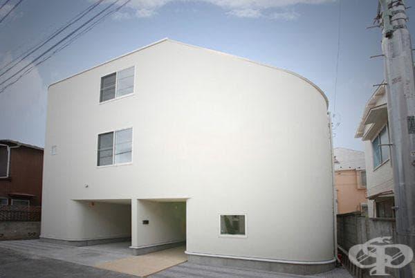 """Къща """"Пързалка"""" в Япония"""